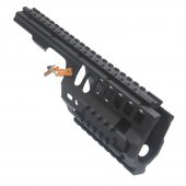 ABS Plastic MP5K / PDW, MOD5K Rail for Airsoft Marui, JG, Classic Army, Galaxy AEG