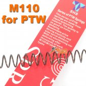 SHS M110 Spring for Systema PTW AEG