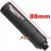 A.P.S. Mock Silencer for WE GBB Airsoft Pistol (Diameter: 23mm x Length: 88mm)