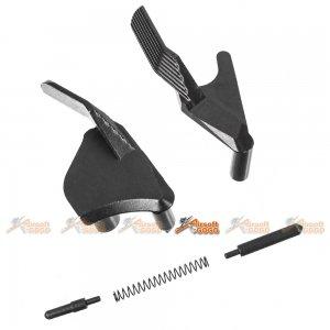 steel thumb safety selector tokyo marui we aw hi capa gbb pistol