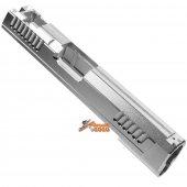 KF Airsoft CNC Aluminum Slide For Tokyo Marui Hi-Capa 5.1 Series GBB ( Silver )