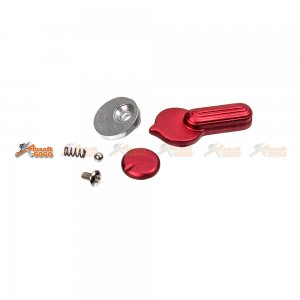 APS Metal Fire Selector Switch for M4/M16 Series AEG (Red)