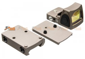 Adjustable RMR Red Dot Sight with 1913 / Marui & WE G17 GBB Mount (DE)