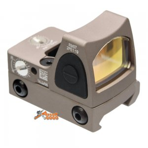 adjustable rmr red dot sight 1913 marui we g17 gbb mount