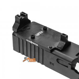 ace1 arms dd style red dot back up sight base marui we glock gbb
