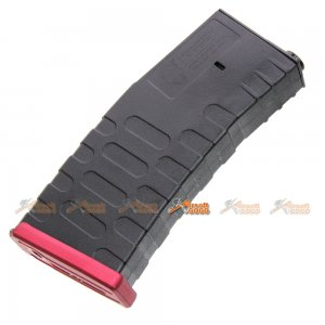 A.P.S. 300rds Hi-Cap U Mag for ASR/UAR/M4 Series AEG (RED)