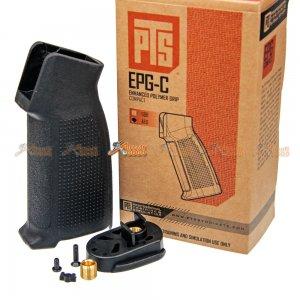 PTS EPG-C Enhanced Polymer Grip Campact for Marui Std. M4/M16 AEG (Black)