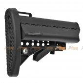 E&C M4 / M16 AEG Fiber MOD Crane Stock (Black)