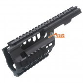 JG CNC Aluminum Full Metal MP5K / PDW Rail System for AEG