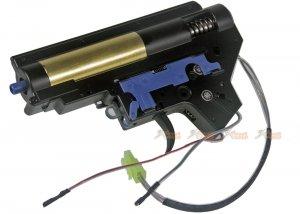 E&C Quick Change Spring Gearbox Set Rear Wire (Black)