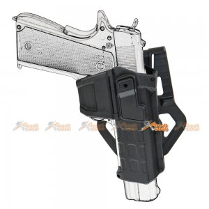 m1911 polymer hard case movable holsters marui we gbb pistol black