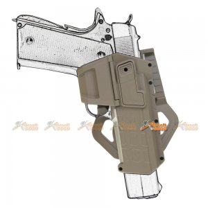 m1911 polymer hard case movable holsters marui we gbb pistol