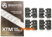 MAGPUL XTM Rail Panel (Black) - 4 pairs