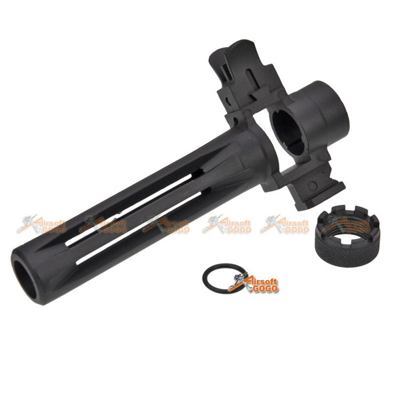 Airsoft Shooting Gear CYMA Metal Flash Hider /& Front Sight Set for M14 Series