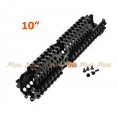 Army Force Zen Style Rail System for AK AEG (Black)