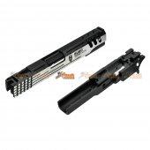 Deep Fire BUBO SCANDIACUS CNC Chassis 5.1 inch Metal Slide & CNC Frame For Tokyo Marui Hi-Capa 5.1