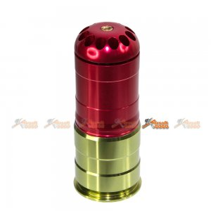 ACM 120rd Airsoft 40mm Grenade Cartridge Shell (Red)