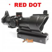 ACOG Type 1x30 Red Dot Sight Scope w/QD 11 & 20mm Mount