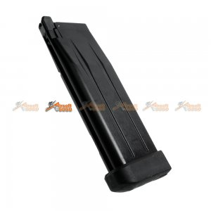 Armorer Works HXMG01 30rds Magazine for WE, Marui Hi-Capa 5.1 Airsoft GBB (Black)