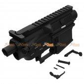 E&C Colt Type M4 AEG Metal Body with Marking - Type 2  ( Black )