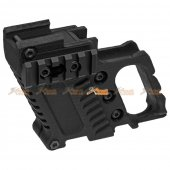 SLONG Tactics Component for WE & Marui 19 / 23 Series Airsoft GBB (Black)