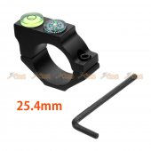 Bubble Level Mount for Airsoft 25.4mm Ring Rifle Scope