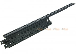 19.6 Inch Rail System 89-01 for Marui Type 89 Airsoft AEG