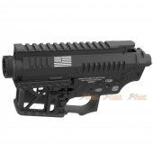 G&P Signature Receiver for Tokyo Marui M4 / M16 & G&P FRS Series (Black)