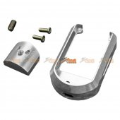 5KU Aluminum Magwell for Marui G17/G18C Airsoft GBB (Silver)