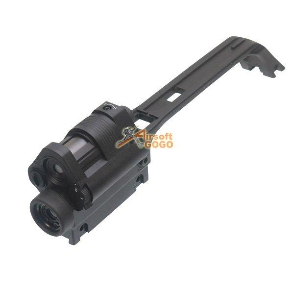 Jg G36v Carry Handle W Integrated 3 5x Scope Amp Red Light