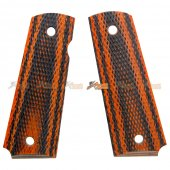 Wood Grip Cover for Tokyo Marui 1911 Airsoft GBB (No.0278)