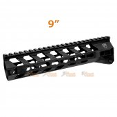 RWA Fortis SWITCH 556 Rail System - 9 inch KeyMod Black for M4 AEG Series