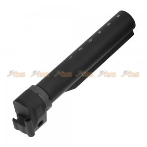 5KU AK To M4 Airsoft Adaptor With 6-Position Tube For E&L AK Series