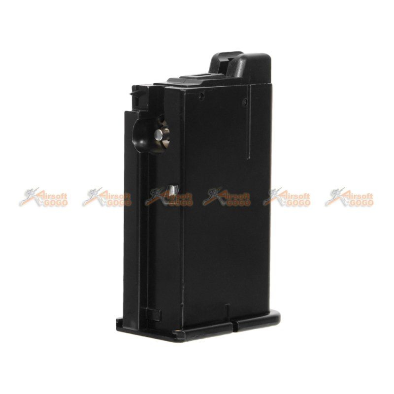 10rds Gas Magazine for WE M712 Series Airsoft GBB (Black) - AirsoftGoGo