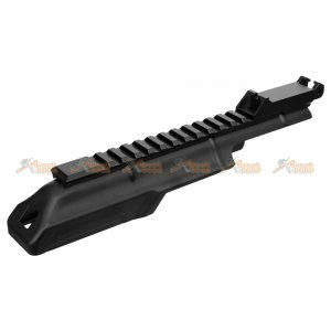 CYMA AK Receiver Cover with 20mm Tactical Rail Rear Sight For CM076A AEG