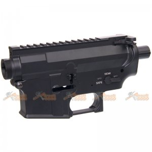 E&C Tactical Airsoft M4 MUR AEG Metal Receiver Body for Marui std G&P JG M4 M16 SR16