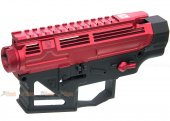 APS PER Light Weight Receiver for APS M4 AEG (Red with Black)