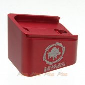 BELL G17 GBB Magazine Base (T.M Type) (Red) type2