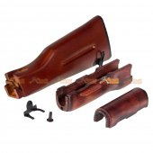 APS Type 74 Wooden Handguard / Stock Set for APS AK / ASK Series