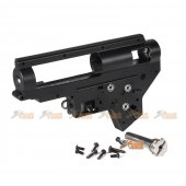 E&C 8mm Bearing QD M4 Ver.2 Gearbox Case (Black)