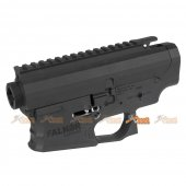 EMG Falkor Officially Licensed Receiver for APS M4 Series Airsoft AEGs (Black)