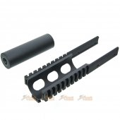 Rail Barrel Extension Kit for Krytac Vector Kriss Airsoft AEG
