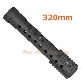 CYMA Metal 320mm Handguard Rail for CYMA 071 AEG (Black)