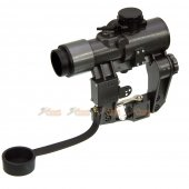 1x30 SVD Red Dot Sight (Black)