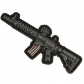 EMG Miniaturized Weapons PVC Morale Patch (Type: Sharp Bros Jack AR15)