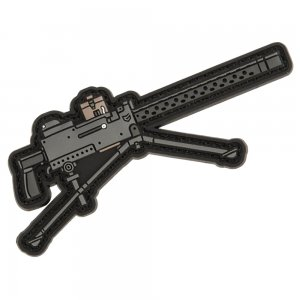 EMG Miniaturized Weapons PVC Morale Patch (Type: M1919 Browning Machine Gun)