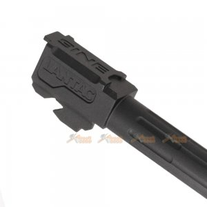 5KU Fluted Outer Barrel for Marui G17 GBB (Black)