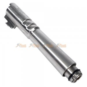 5KU 5 inch Steel Outer Barrel with Aluminum Compensator for Marui Hi-Capa 5.1 GBB