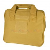 Carrying Pistol Bag with 5 Storage Pockets  (Small Size, TAN)