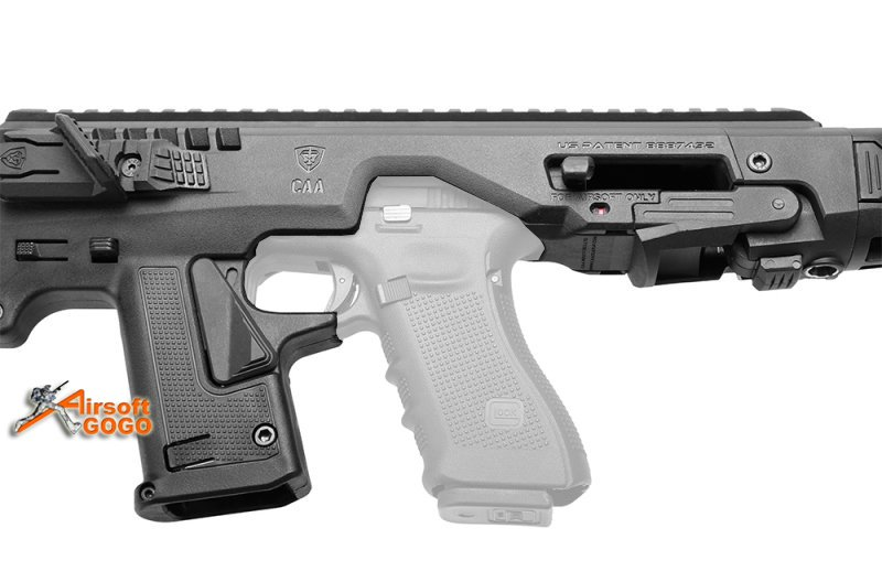 CAA AIRSOFT MICRO RONI Pistol Carbine Conversion for Umarex G17 G19